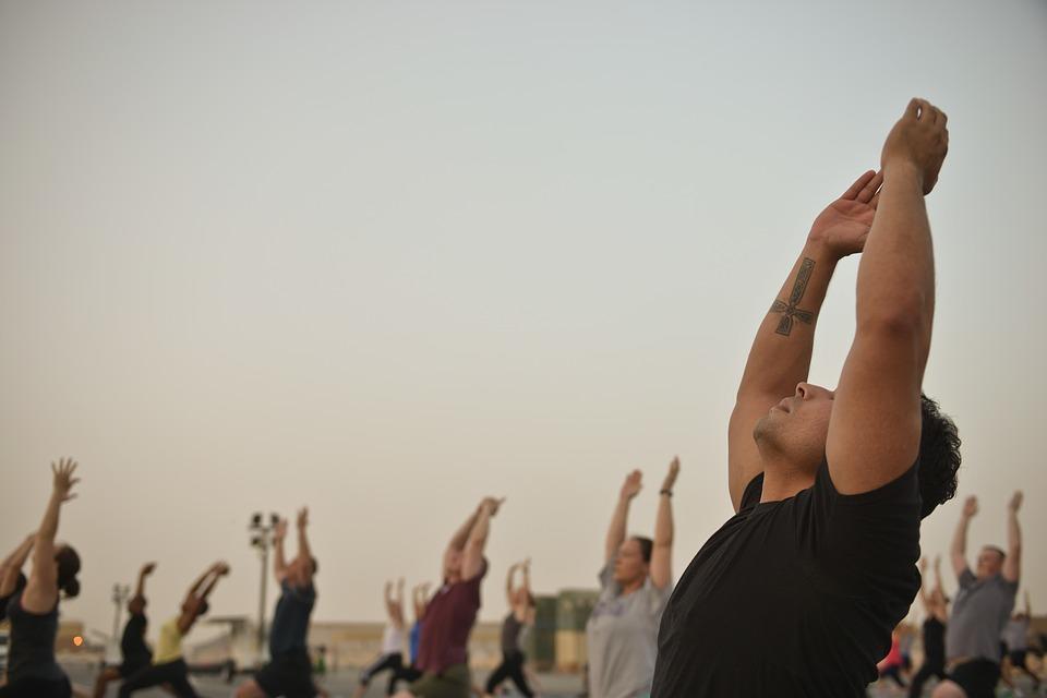 yoga hombre